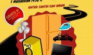 Jalan Sehat Dalam Rangka Tahun Baru Hijriyah dan 3 Dasawarsa Al-Ishlah