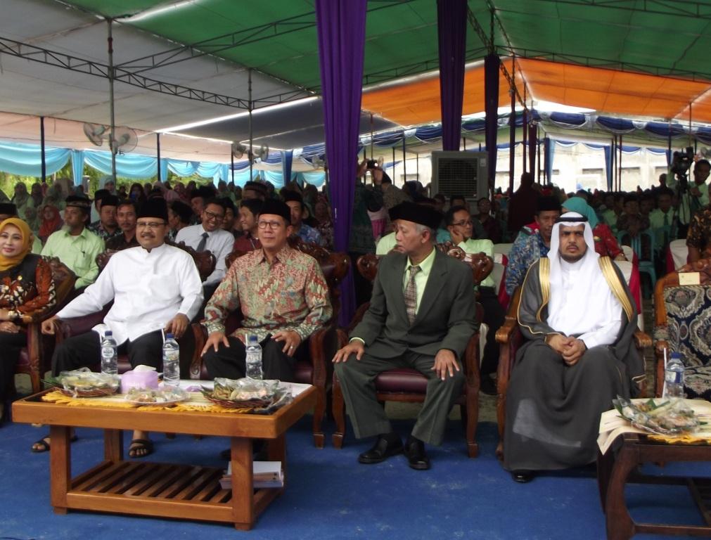 Menteri Agama RI ke PP. Al-Ishlah