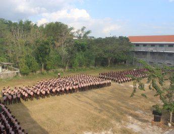 Penerimaan Ambalan pada Peringatan Hari Pramuka (Scout Day)
